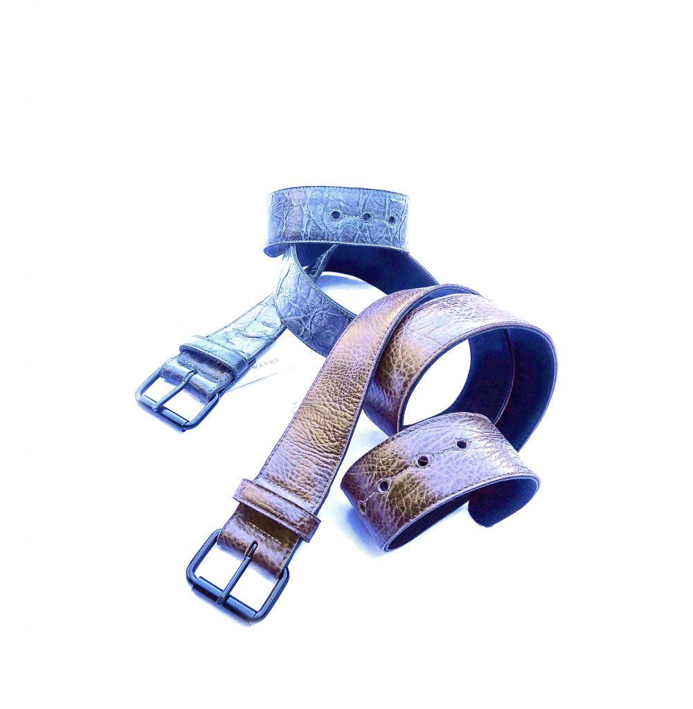 (#119) Roller Buckle Belts