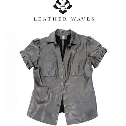 (#29) Womens Leather Shirt