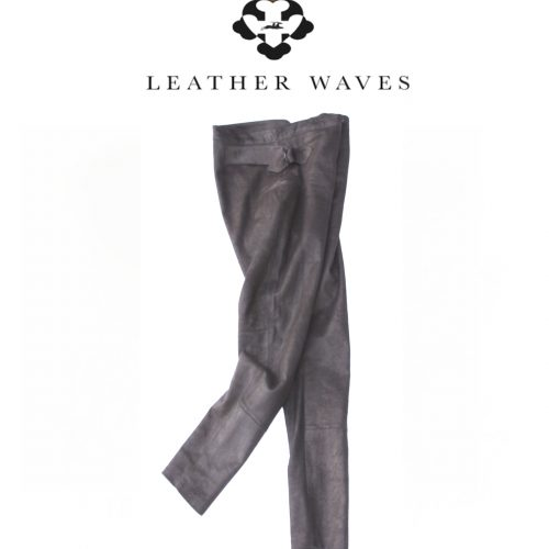 (#48) Stretch Leather Pants