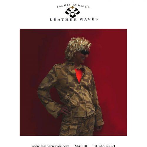 (#106) Camo Cargo Jacket